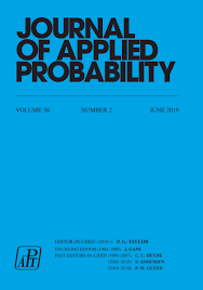 Journal Of Applied Probability Volume 56 Issue 2 Cambridge Core