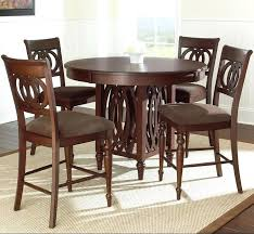 5 piece counter height dining set silver dolly 5 piece round counter height dining set ciara