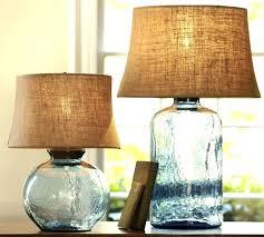 fillable table lamp glass lamp glass table lamp base light blue glass table lamp base fillable