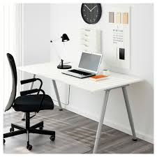 ikea thyge desk the melamine surface is durable stain resistant and easy to keep clean