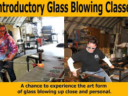 introductory glass blowing classes mark a ellinger glass quest hand blown art glass studio