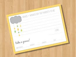 Baby Shower Book Request Insert Gifts On ZazzleBaby Shower Message Book