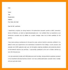 cover letter description admissions counselor resume description admission cover letter best