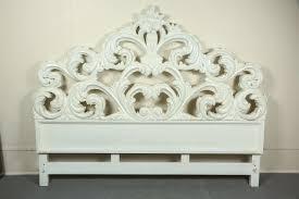 glamorous carved wood baroque headboard at stdibs
