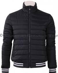 leo padding strech jacket navy
