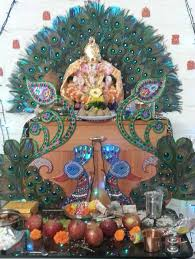 ganpati decoration ideas at home in usa home ideas