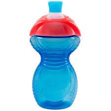 <b>Поильник</b> - <b>чашка Click</b> Lock с носиком 270 мл ц. голубой <b>Munchkin</b>