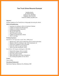 6 Driver Cv Format In Ms Word Fillin Resume