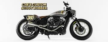 cab s custom scout bobber blog motorcycle parts and riding