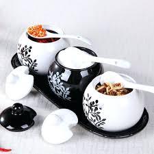 white ceramic kitchen canisters kitchen