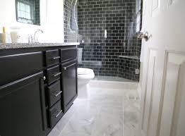 bathroom subway tile floor. Marble Tile Floor Bathroom Subway