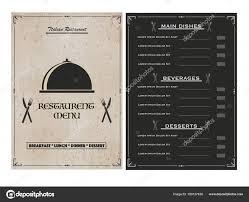 Menu Design Templates Creative Menu Design Templates Creative Restaurant Menu