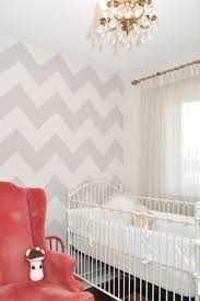 Grey Nursery with a Pop of Red!