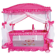 Baby Swing With Light Canopy Baby Love Playpen W Mosquito Net Light Pink