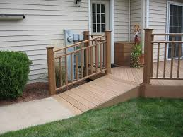 most families really don t have plans for a possible wheelchair ramp installation when their homes are being built it is only when they have a need for a