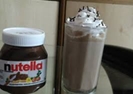 nutella shake without ice cream