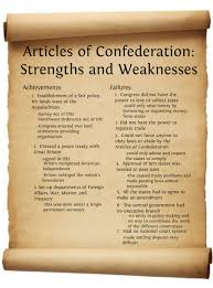 articles of confederation articles of confederation strengths articles of confederation articles of confederation strengths and weaknesses publish