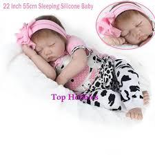 G157 <b>NPKDOLL 22 Inch 55CM</b> Reborn Baby Doll Lifelike Sleeping ...