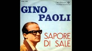 Gino Paoli - Sapore Di Sale (1963) - YouTube