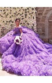 cheap purple color wedding gown colorful bridal dresses dorris