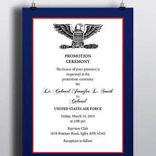 patriotic invitations templates army invitation template i on navy blue and ecru retirement