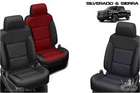 2016 2018 silverado and sierra leather interior s