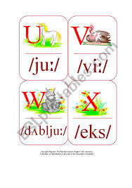 Phonetics is pretty straight forward. My Phonetic Animal Alphabet Flash Cards 2 7 Esl Worksheet By Blunderbuster