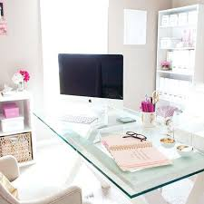 shabby chic office decor. Chic Office Desk Accessories Shabby Decorating Ideas Inspiration Via Nous Decor