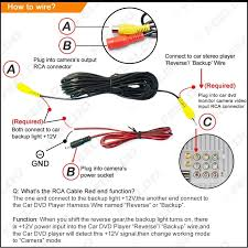 wiring diagram for reversing camera & related post\
