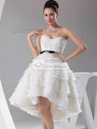 glamorous ball gown organza sweetheart knee length wedding dresses