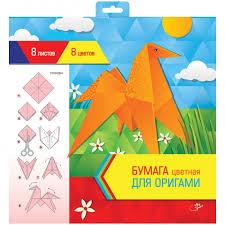 <b>Спейс Цветная</b> бумага для оригами и аппликации 300х300 мм 8 ...