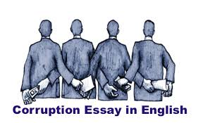 corruption essay in english 200 words