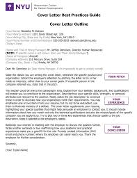 Exceptional Cover Letter Guide Letters Guidelines Harvard 2018