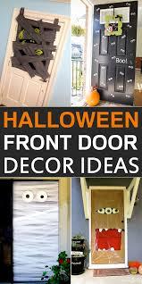 halloween front door decorations10 DIY Halloween Front Door Decor Ideas
