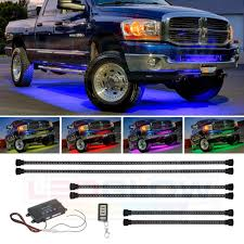 Led Undercarriage Truck Lights Ledglow 6pc Million Color Multi Color Truck Led Underbody Underglow Accent Lighting Kit 18 Solid Colors 12 Unique Patterns Music Mode Water