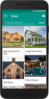 real state template estate a property real estate app template by neurondigital