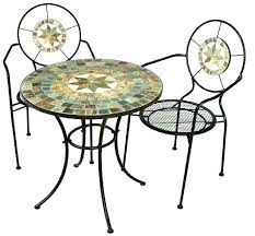 beauty equipment po005 mosaic with steel country style garden furniture 2chairs witdemonstrational teaching utensil h