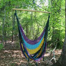 Cool Hammock Traditional Mayan Hammock Chair Cool Rainbow Dfohome