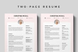96 Creative Resume Template Free Download Clean Resume Template