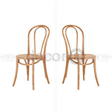 bentwood bistro chair. Bentwood Style Wood Industrial Loft Chair (Set Of Two) - Vintage Light Oak Bistro R
