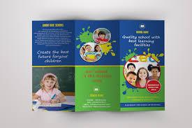 tri fold school brochure template elementary school brochure template free school tri fold brochure