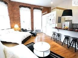 Best Studio Apartments In Chicago Loft Studio Apartments Industrial Loft  Small Space Studio Apartment Interior Design