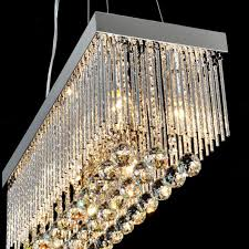 modern rectangle crystal chandelier 7987 free ship browse project intended for amazing home rectangle crystal chandelier plan