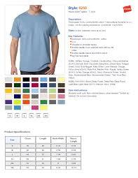 Hanes T Shirts Size Guide Rldm