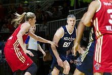 Duncan playing in the 2014 NBA All-Star Weekend Celebrity Game.