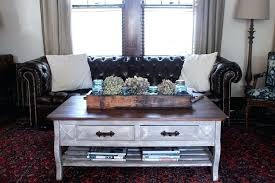 restoration hardware inspired coffee table before after finding silver pennies rh modern reen