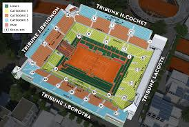 Philippe Chatrier Seating Chart Court Philippe Chatrier Tennis Buzz