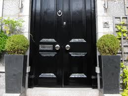 black double front doors. Georgian Front Doors With Nickel Door Furniture Black Double