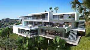 modern mansions. Two Modern Mansions On Sunset Plaza Drive In LA (4)