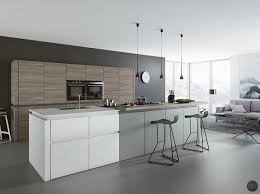 Kitchens With Gray Floors 30 Gorgeous Grey And White Kitchens That Get Their Mix Right